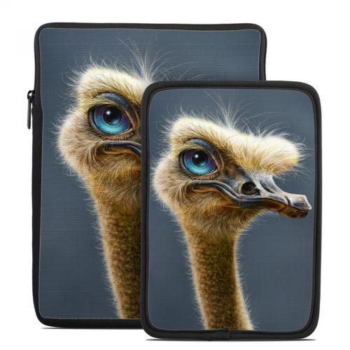 Ostrich Totem Tablet Sleeve