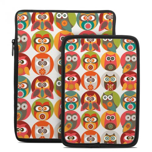 Owls Family Tablet Sleeve