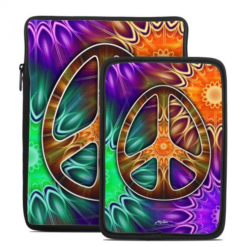 Peace Triptik Tablet Sleeve