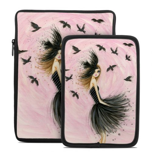 Raven Haired Beauty Tablet Sleeve