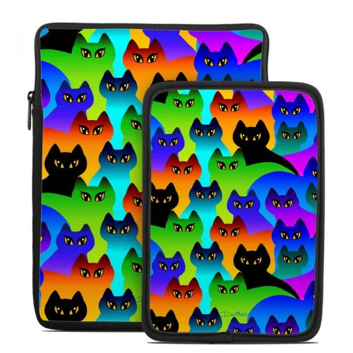 Rainbow Cats Tablet Sleeve