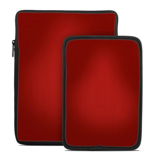 Red Burst Tablet Sleeve