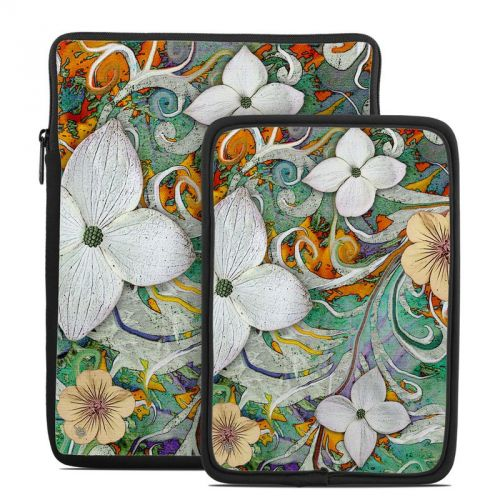Sangria Flora Tablet Sleeve