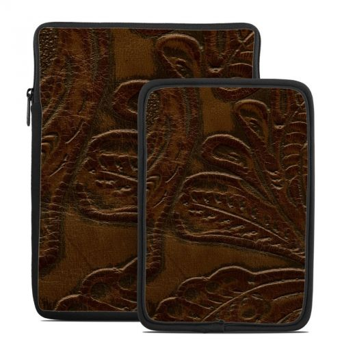 Saddle Leather Tablet Sleeve
