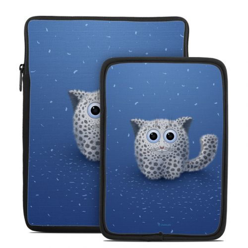 Snow Leopard Tablet Sleeve