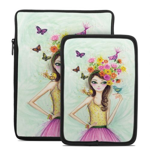 Spring Time Tablet Sleeve