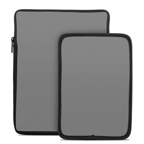 Solid State Grey Tablet Sleeve