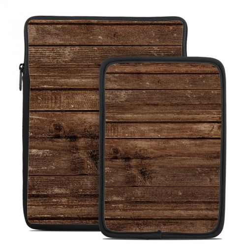 Stripped Wood Tablet Sleeve