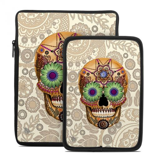 Sugar Skull Bone Tablet Sleeve