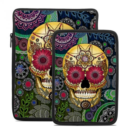 Sugar Skull Paisley Tablet Sleeve