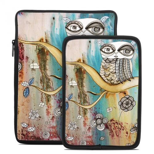 Surreal Owl Tablet Sleeve