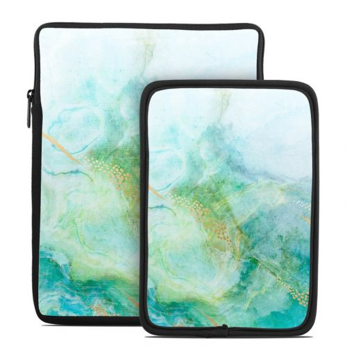 Winter Marble Tablet Sleeve