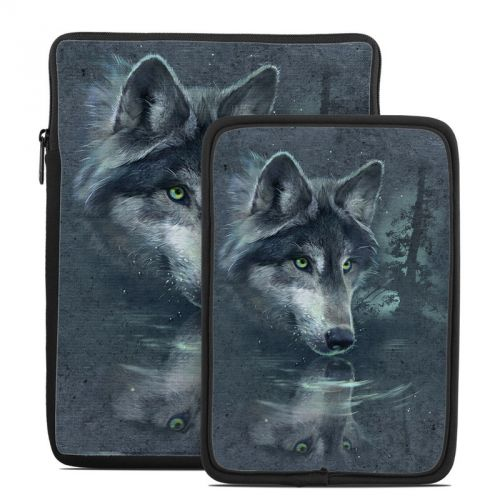 Wolf Reflection Tablet Sleeve