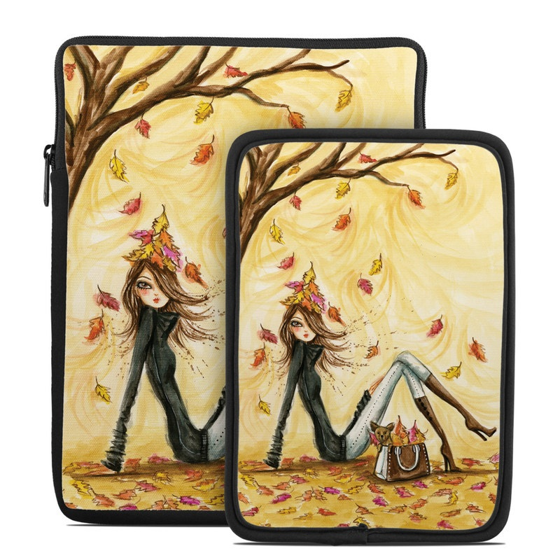 Autumn Leaves Tablet Sleeve