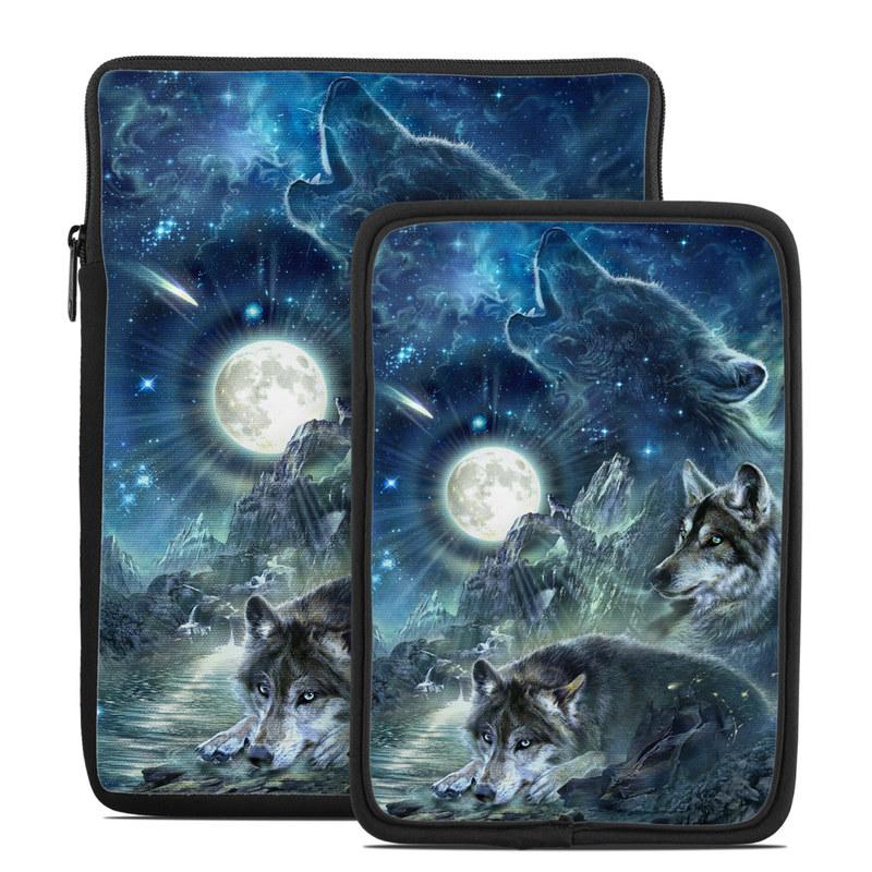 Bark At The Moon Tablet Sleeve