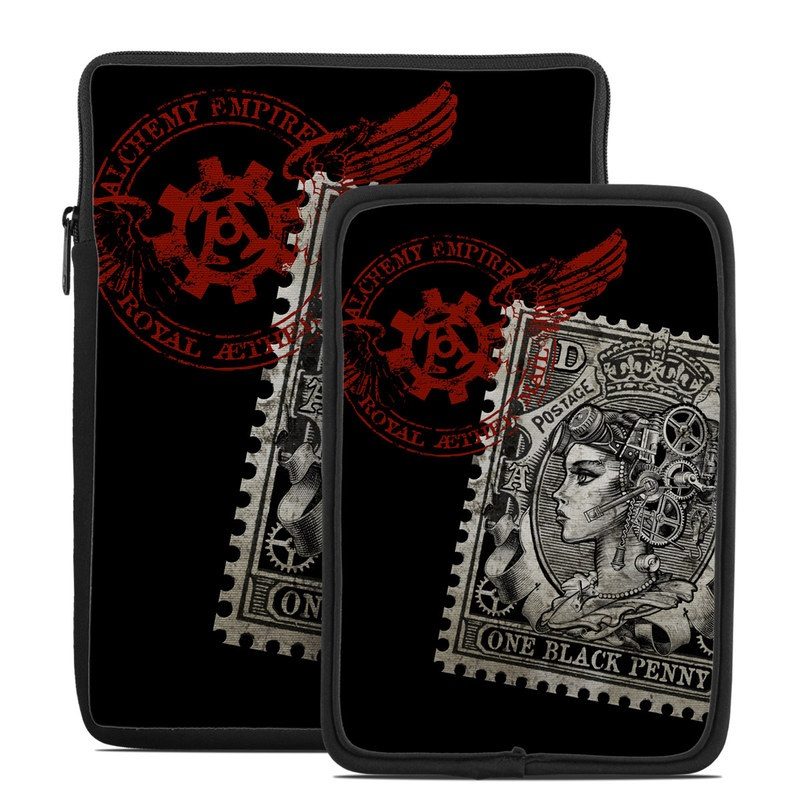 Black Penny Tablet Sleeve