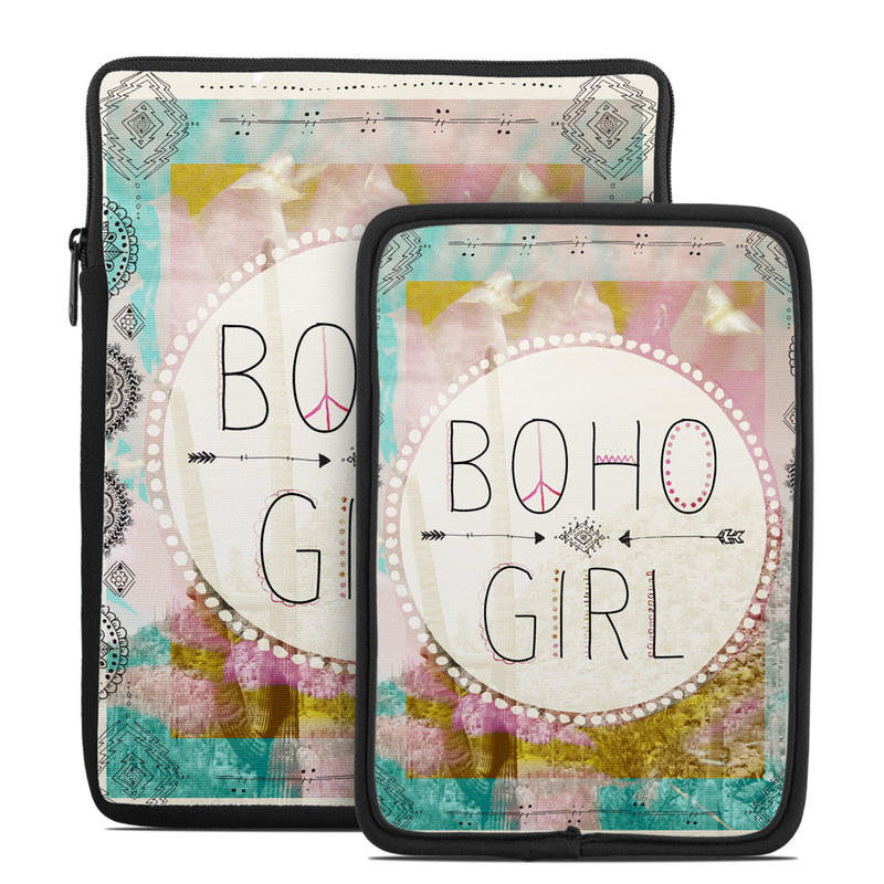 Boho Girl Tablet Sleeve