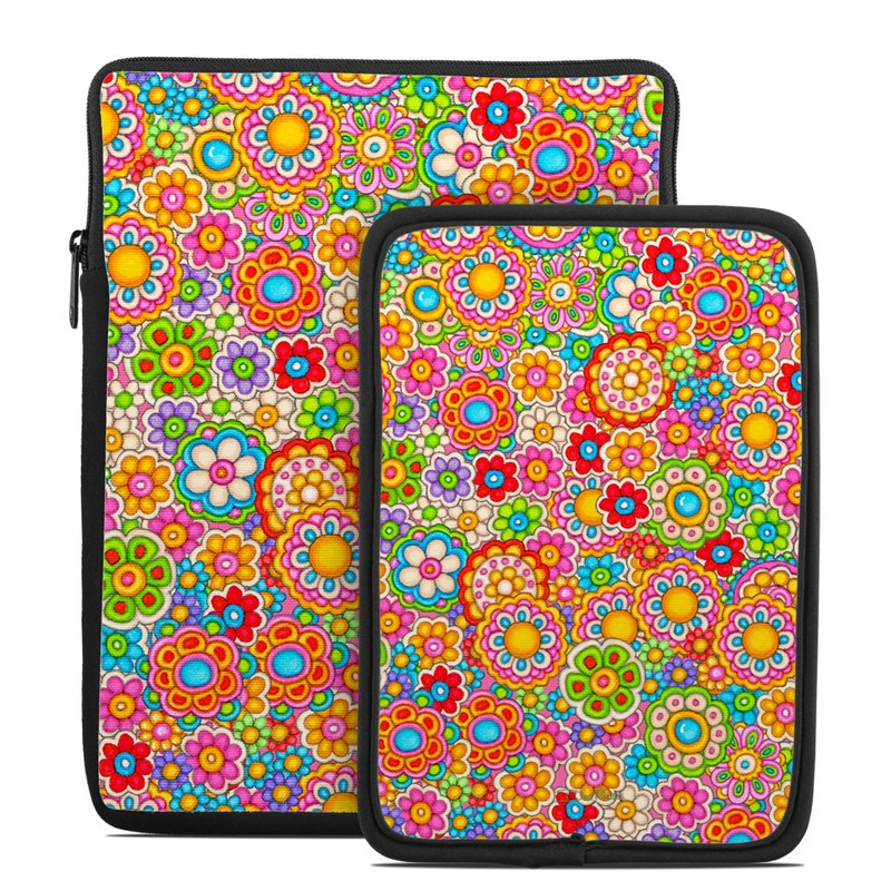 Bright Ditzy Tablet Sleeve