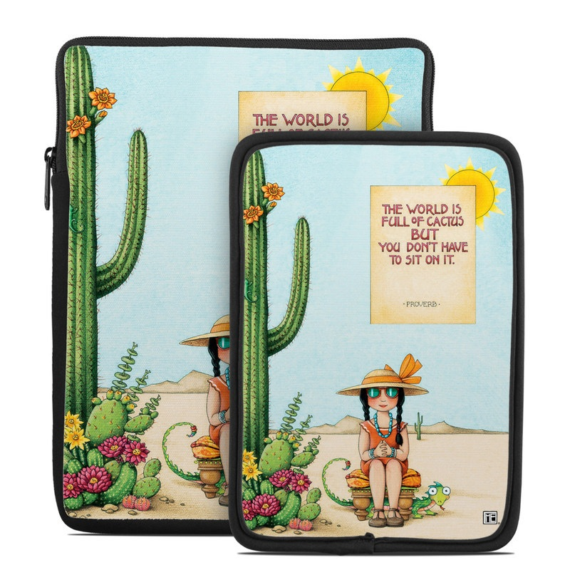 Cactus Tablet Sleeve
