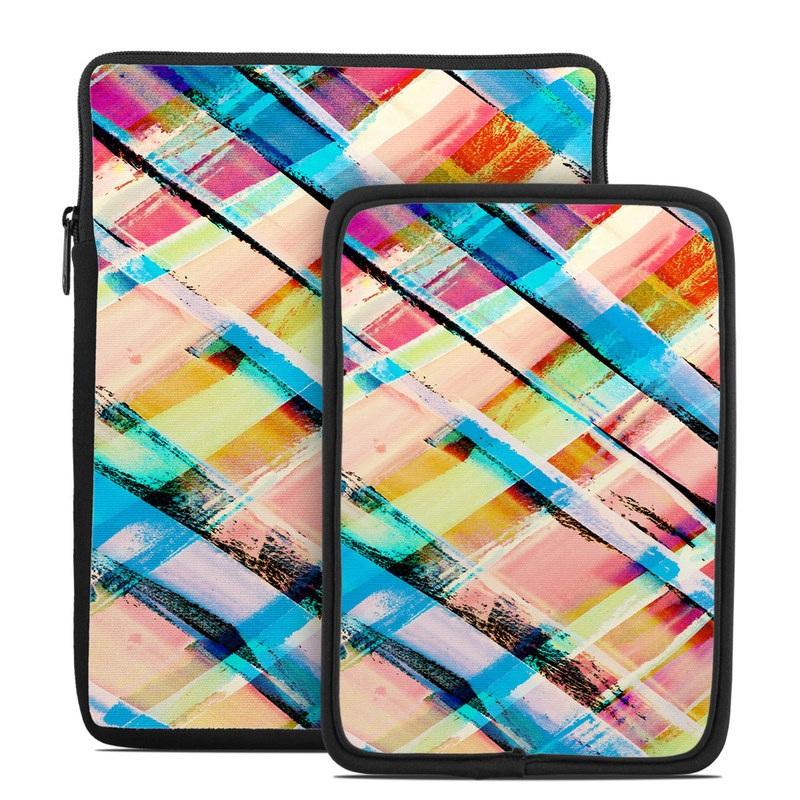 Check Stripe Tablet Sleeve