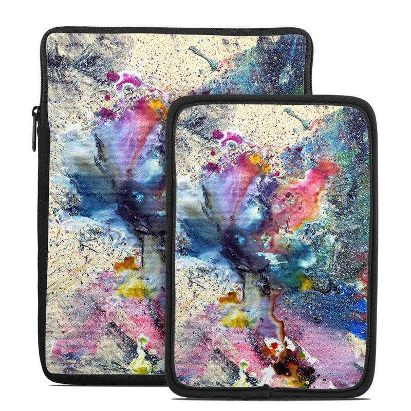 Cosmic Flower Tablet Sleeve