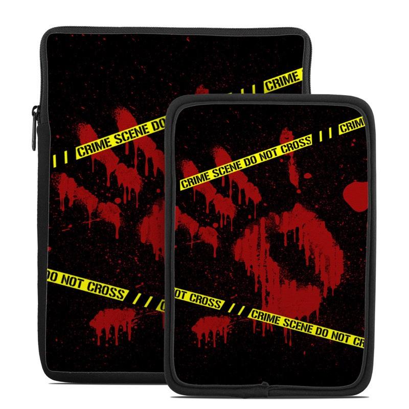 Crime Scene Tablet Sleeve