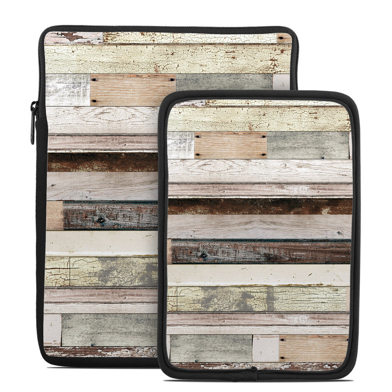 Tablet Sleeve design of Wood, Wall, Plank, Line, Lumber, Wood stain, Beige, Parallel, Hardwood, Pattern with brown, white, gray, yellow colors