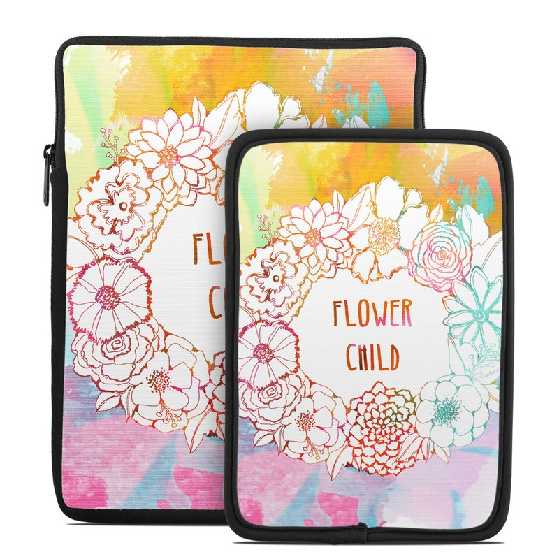 Flower Child Tablet Sleeve