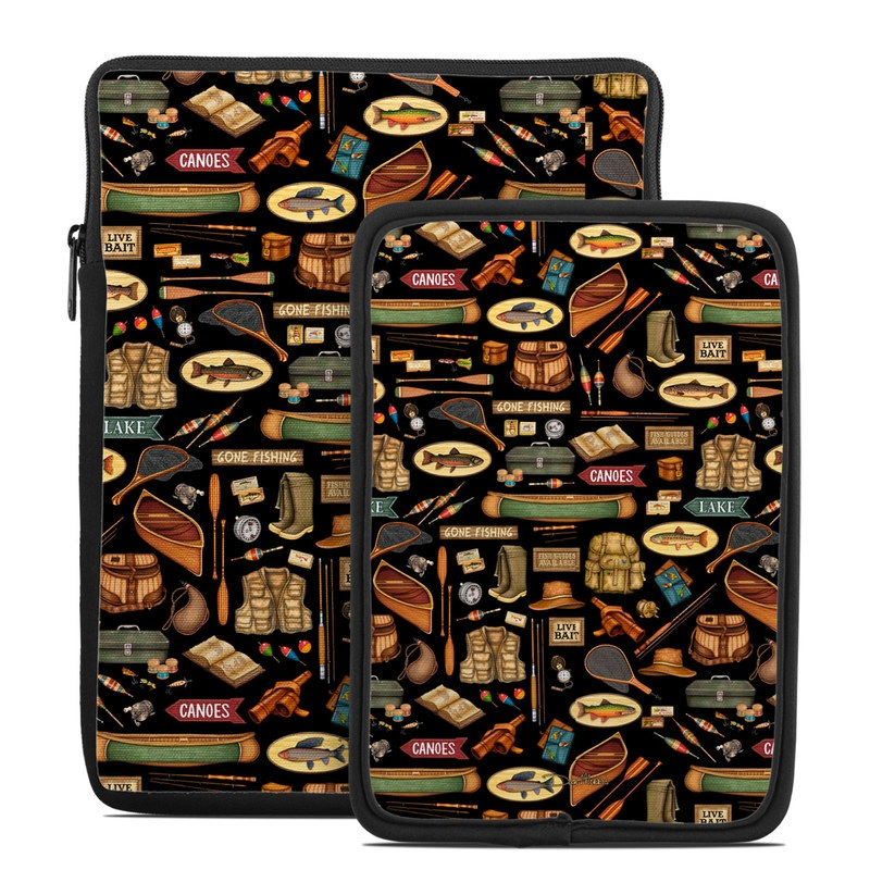 Gone Fishing Tablet Sleeve