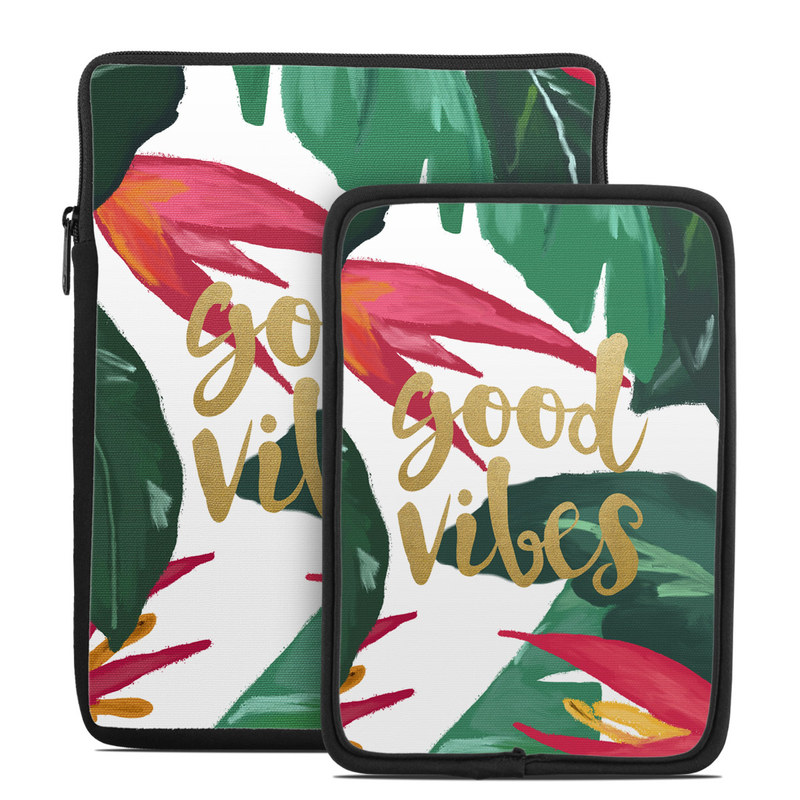 Good Vibes Tablet Sleeve