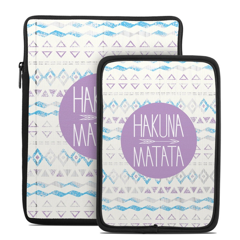 Tablet Sleeve design of Text, Font, Aqua, Pattern, Line, Purple, Turquoise, Teal, Design, Textile with gray, white, yellow, pink, purple colors