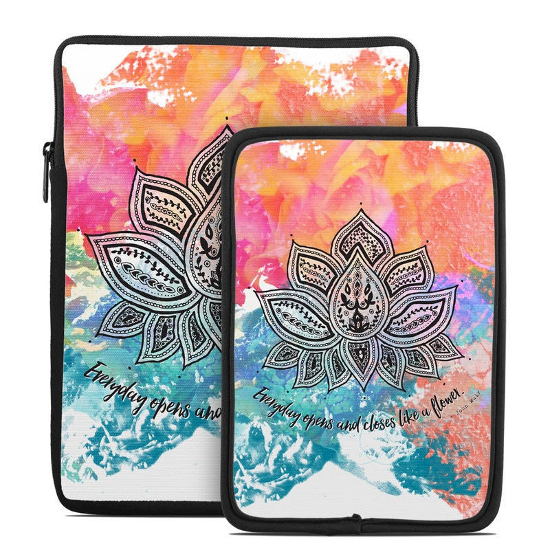 Happy Lotus Tablet Sleeve