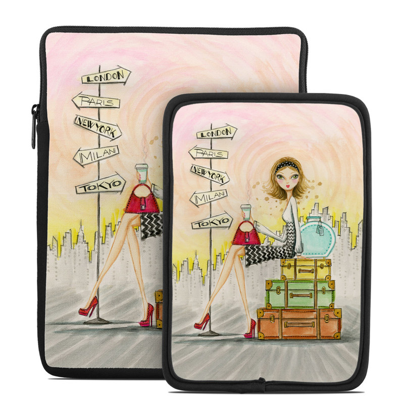 The Jet Setter Tablet Sleeve
