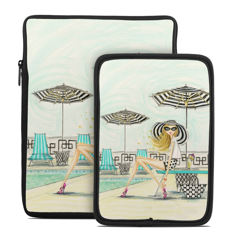 Luxe Retreat Poolside Tablet Sleeve