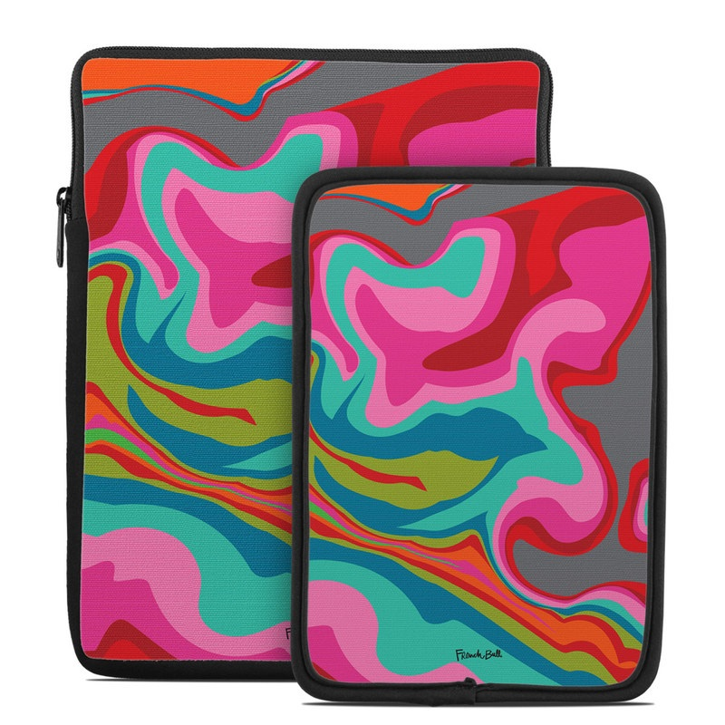 Marble Bright Tablet Sleeve