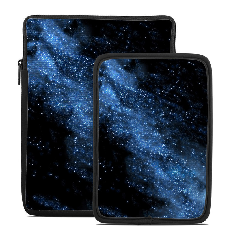 Tablet Sleeve design of Sky, Atmosphere, Black, Blue, Outer space, Atmospheric phenomenon, Astronomical object, Darkness, Universe, Space with black, blue colors