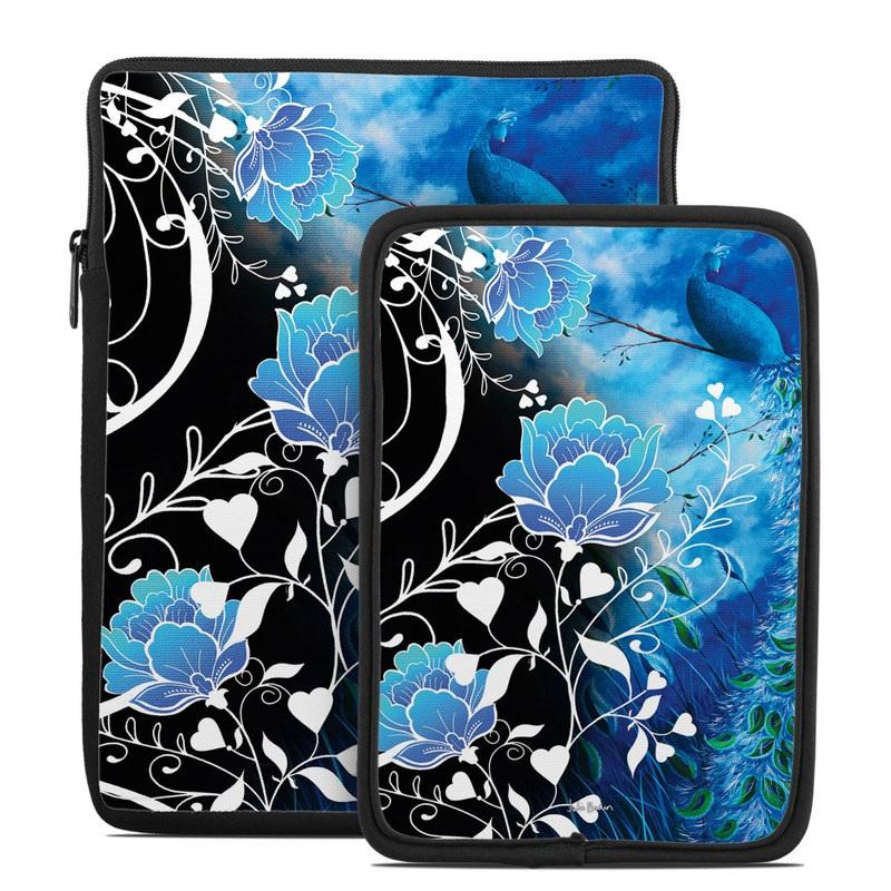 Peacock Sky Tablet Sleeve