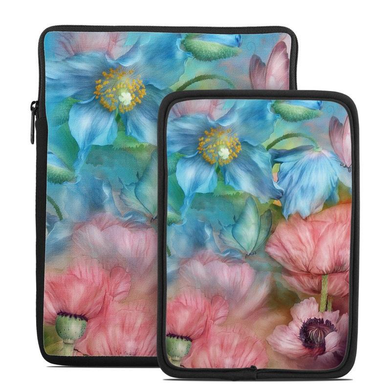 Poppy Garden Tablet Sleeve