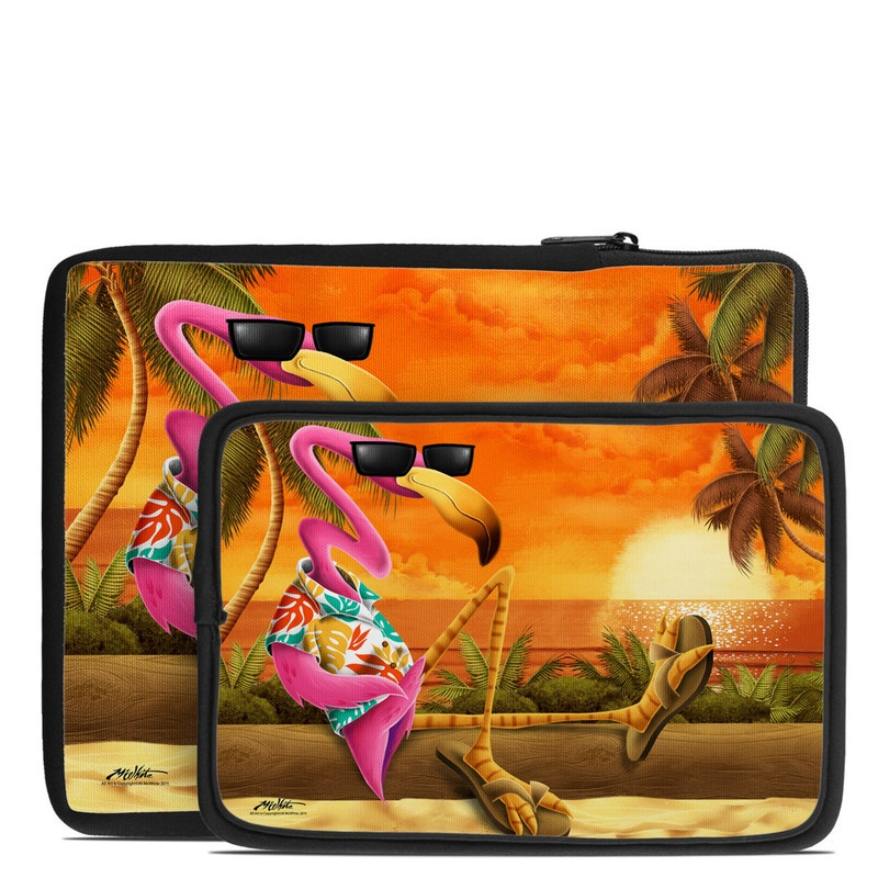 Sunset Flamingo Tablet Sleeve