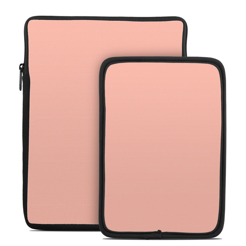 Solid State Peach Tablet Sleeve