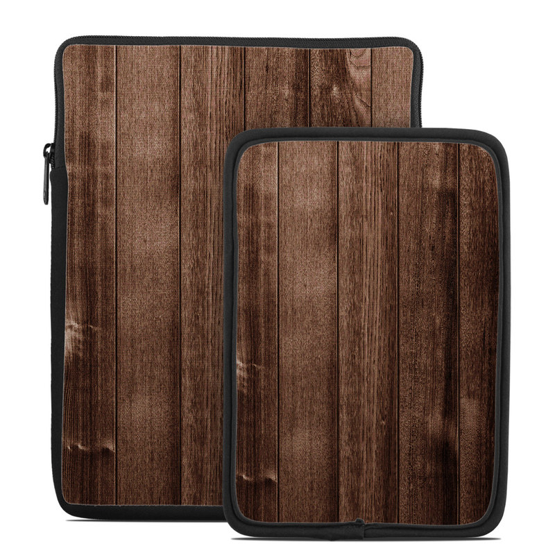 Stained Wood Tablet Sleeve