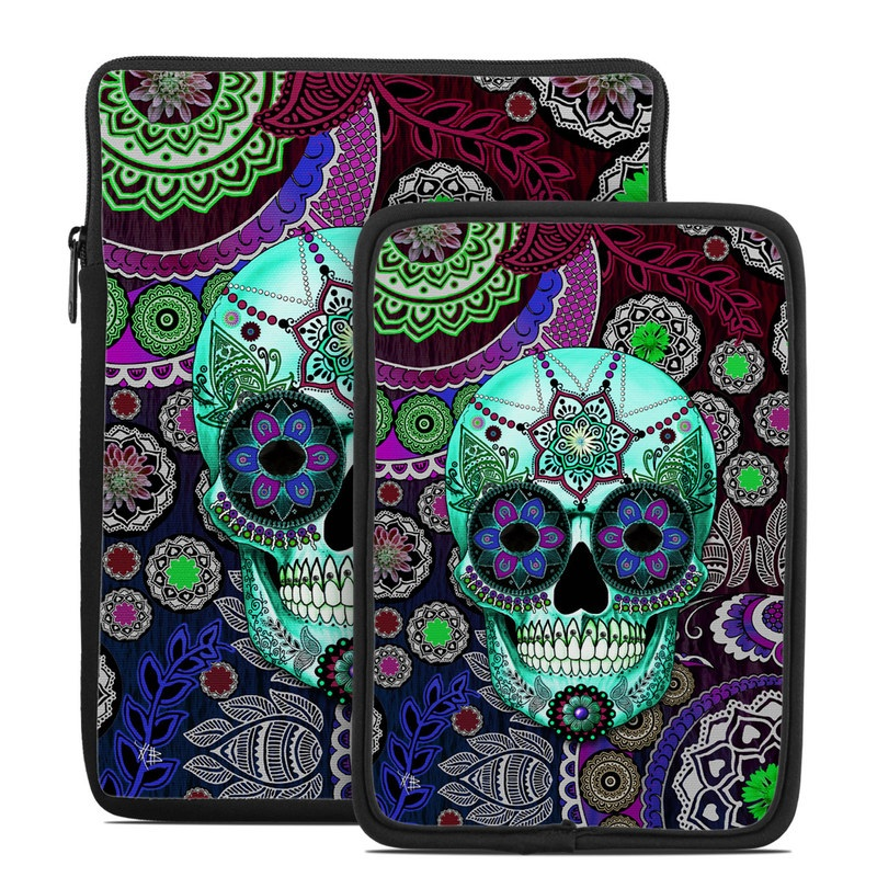 Sugar Skull Sombrero Tablet Sleeve