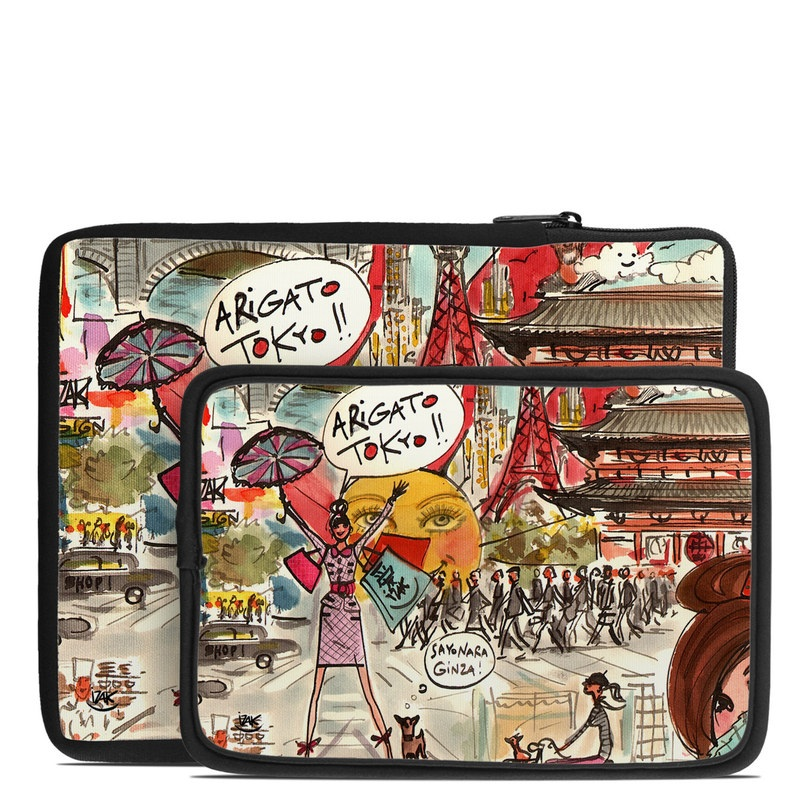 Tablet Sleeve design of Cartoon, Art, Illustration, Graphic design, Collage, Fiction, Fictional character, Comics, Visual arts, Photomontage with gray, black, red, green, pink, yellow colors