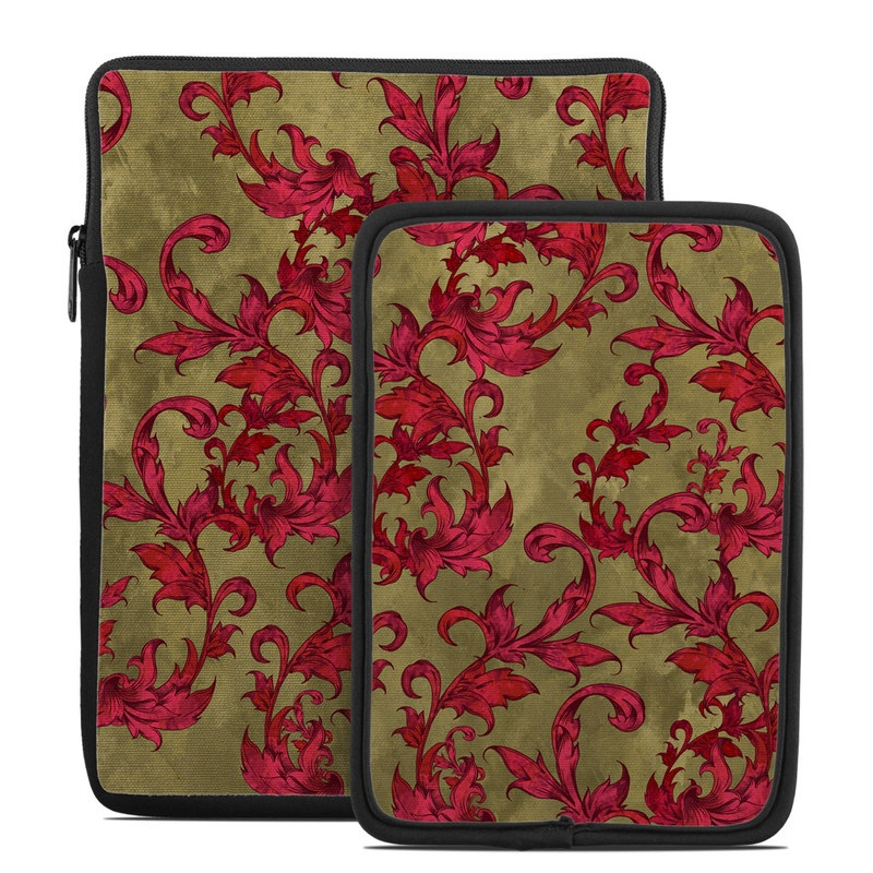 Vintage Scarlet Tablet Sleeve