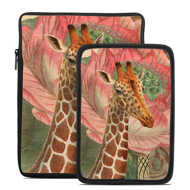 Whimsical Giraffe Tablet Sleeve