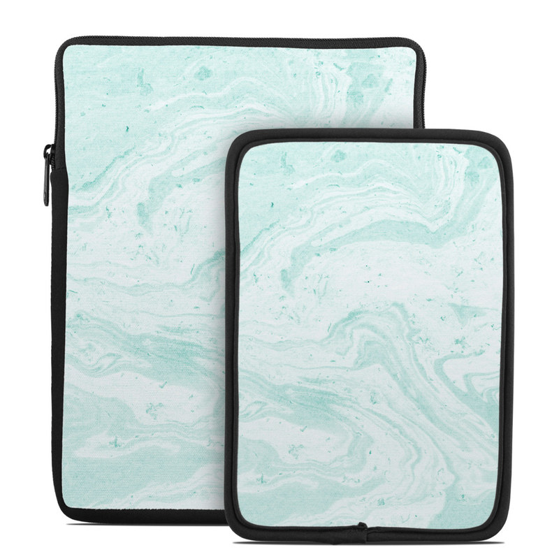 Winter Green Marble Tablet Sleeve